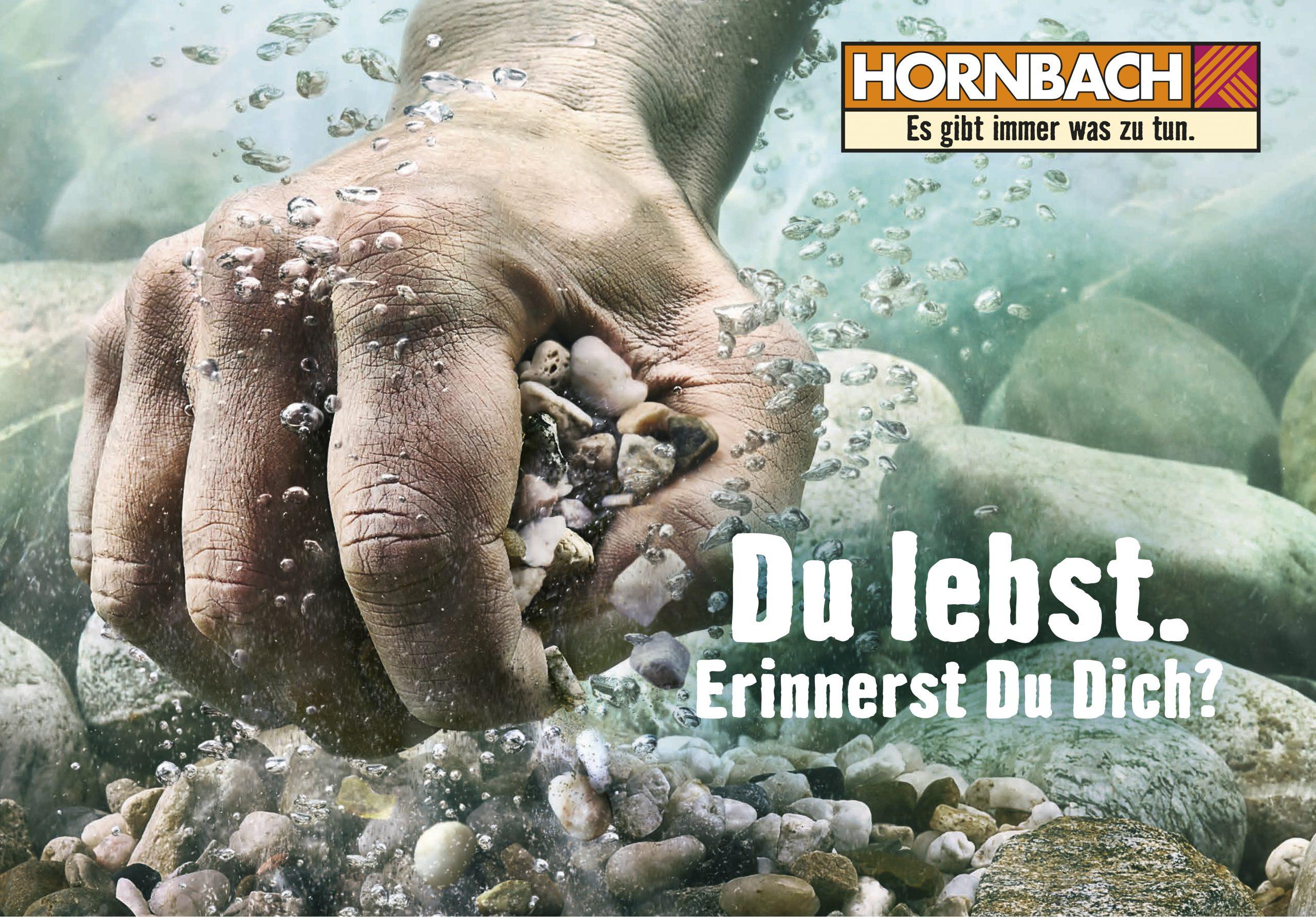 Hornbach Werbung als Beispiel für Design